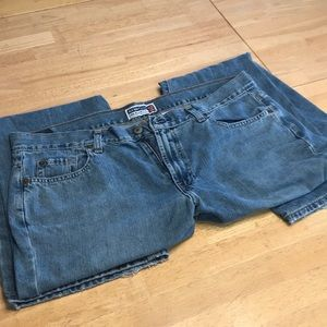 old Navy Ultra low waist boot cut size 16 Jeans